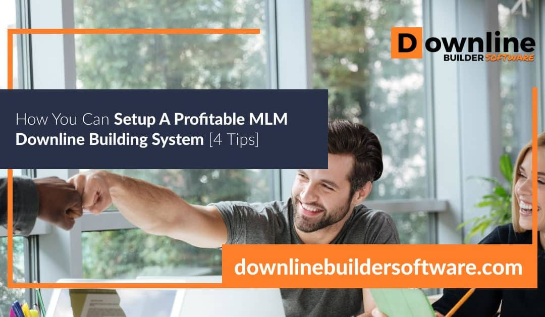 How You Can Setup A Profitable MLM Downline Building System [4 Tips]